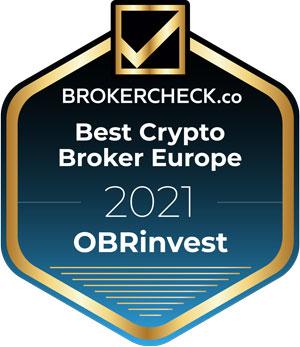 OBRinvest BrokerCheck Award